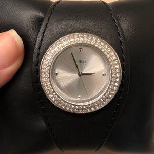 Women's Guess black watch
